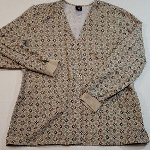 Cherokee Studio Long Sleeve Scrub Shirt Medium